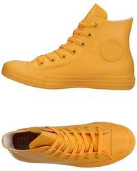Converse High Sneakers & Tennisschuhe - Gelb
