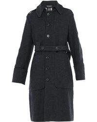 Ann Demeulemeester Coat - Gray
