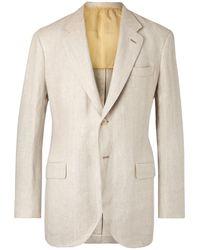 P.Johnson Suit Jacket - White