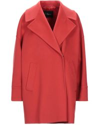 Les Copains Coat - Red