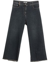 Peserico Denim Trousers - Blue