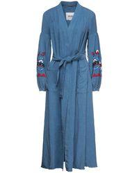 Bazar Deluxe Overcoat - Blue