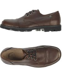 DIESEL Lace-up Shoe - Brown