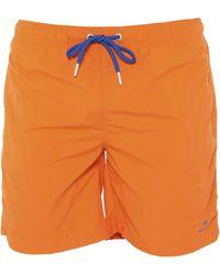 GANT Badeboxer - Orange