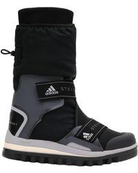 adidas By Stella McCartney Logo-detailed Nylon Winter Boots - Black