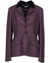 Alexander McQueen Blazer - Purple