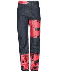 CALVIN KLEIN 205W39NYC Pantaloni jeans - Blu