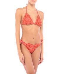 Raffaela D'angelo Bikini - Orange
