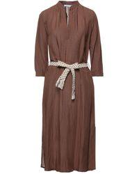 LE SARTE DEL SOLE Midi Dress - Brown