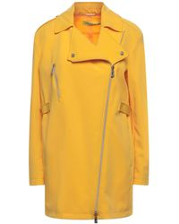 Versace Jeans Couture Overcoat - Yellow
