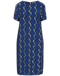 Bruno Manetti Short Dress - Blue