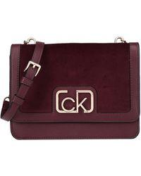 Calvin Klein Cross-body Bag - Purple