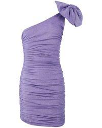 Redemption Short Dress - Purple