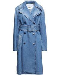 MM6 by Maison Martin Margiela Denim Outerwear - Blue