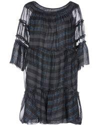 Alpha Studio Short Dress - Black