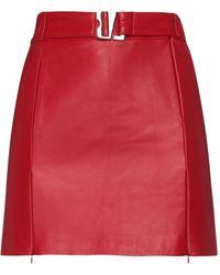 MISBHV Mini Skirt - Red