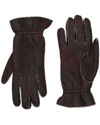 Miu Miu Gloves - Brown