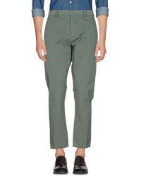 Macchia J Casual Trouser - Green