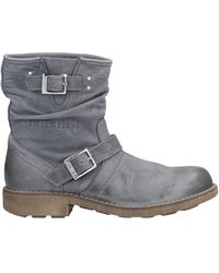 Bikkembergs Ankle Boots - Gray