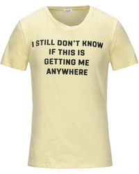 Celine T-shirt - Jaune