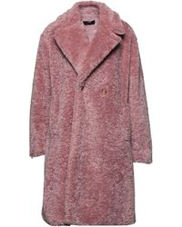 Trussardi Teddy Coat - Pink