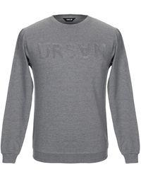 Solid Sweatshirt - Grau