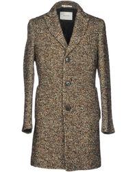 Aglini Coat - Brown