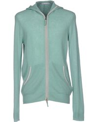Silk And Cashmere Cardigan - Green