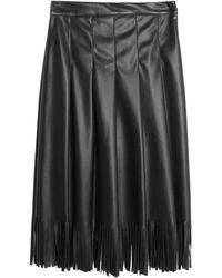 Motel Midi Skirt - Black