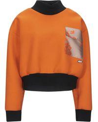 MSGM Felpa - Arancione