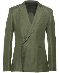 Haider Ackermann Suit Jacket - Green