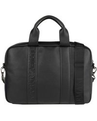 Emporio Armani Work Bags - Black