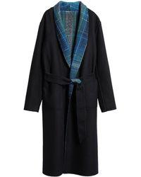 Missoni Manteau long - Bleu