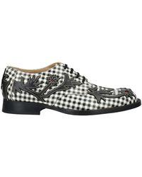 Comme des Garçons Chaussures à lacets - Noir