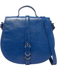 Halston Cross-body Bag - Blue