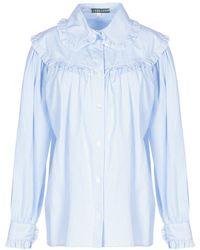 ALEXACHUNG Shirt - Blue