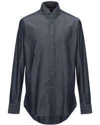 Tagliatore Camicia jeans - Blu
