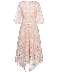 Maje Langes Kleid - Pink