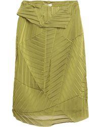 Aviu Midi Skirt - Green