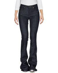 Victoria, Victoria Beckham Denim Pants - Blue