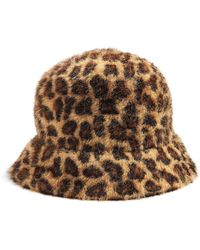 TOPSHOP Hat - Brown