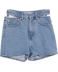 IRO Shorts vaqueros - Azul