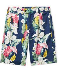 Engineered Garments Shorts & Bermudashorts - Blau