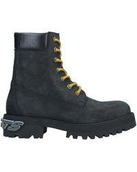 Vetements Ankle Boots - Black