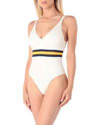 K-Way - One-piece Swimsuit - Lyst