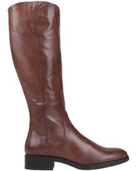 Lamica Knee Boots - Brown