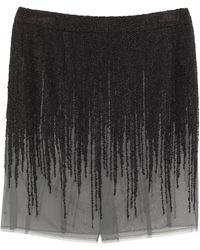 Dior Mini Skirt - Gray