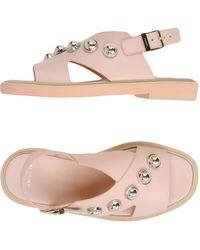 Carven Sandals - Pink