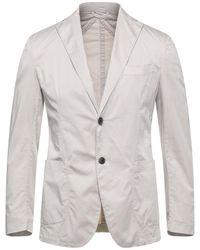 Bagnoli Sartoria Napoli Suit Jacket - Gray