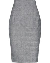 Maria Grazia Severi Midi Skirt - Black
